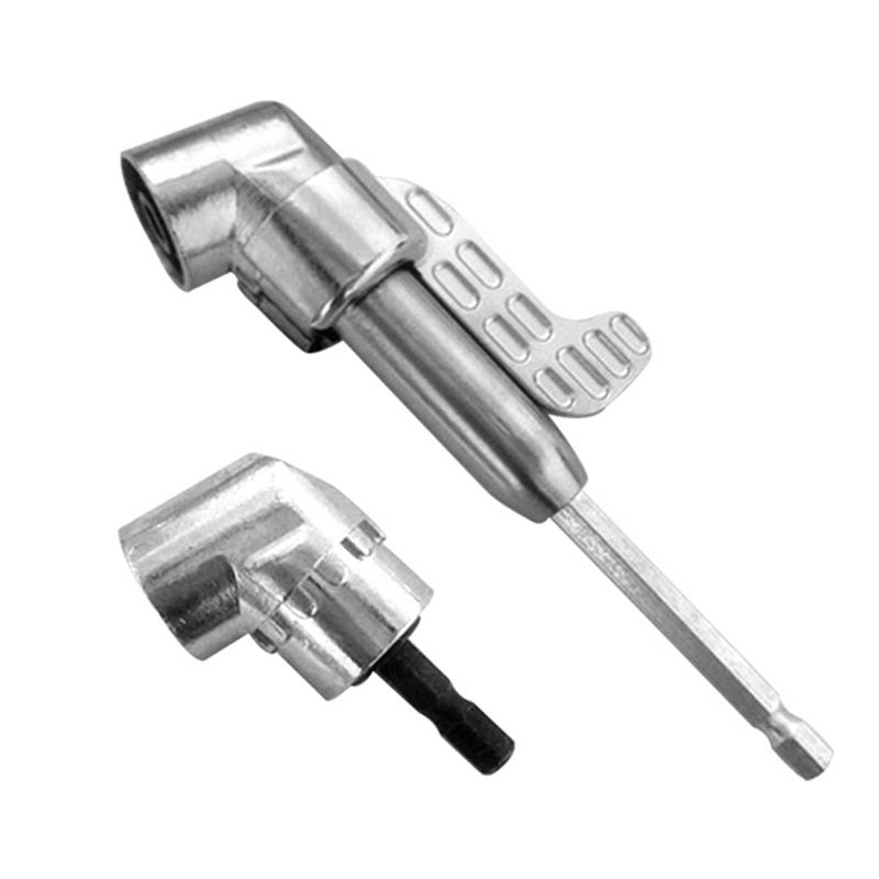 105 Degree Right Angle Driver Hex Screwdriver Holder Power Drill Bit Set Stainless Steel Screw 60/140mm