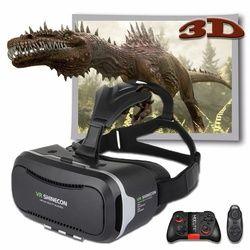 Shinecon 2.0 VR Pro versión virtual reality 3D Gafas auriculares Google cartón caja 3.0 Movie Game para 4.7-6 pulgadas Teléfono + remoto