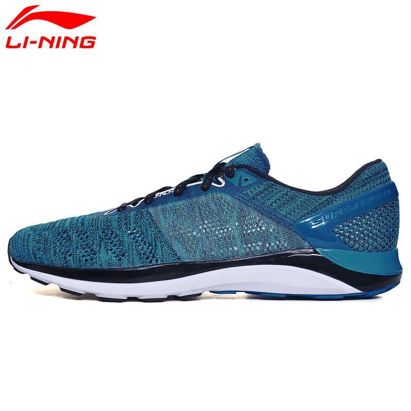 Li Ning herren SUPER LICHT XIV Laufschuhe Dämpfung DMX Turnschuhe Atmungsaktives Innenfutter Sportschuhe ARBM019 XYP468