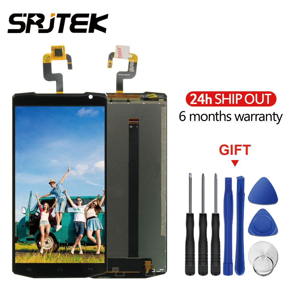 5.5'' For Oukitel K10000 LCD Display + Touch Screen Digitizer Full Assembly For Oukitel K10000 High Quality