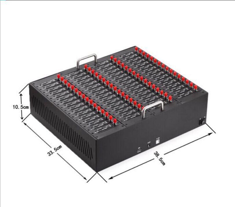 64 port usb gsm modem pool bulk sms device new design MTK modem by Antecheng