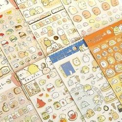 New 1 Pcs/pack Kawaii Scrapbooking Corner Creature Ver 3 Planner Stickers/decoration Label/cartoon Korea Stationery/san-x