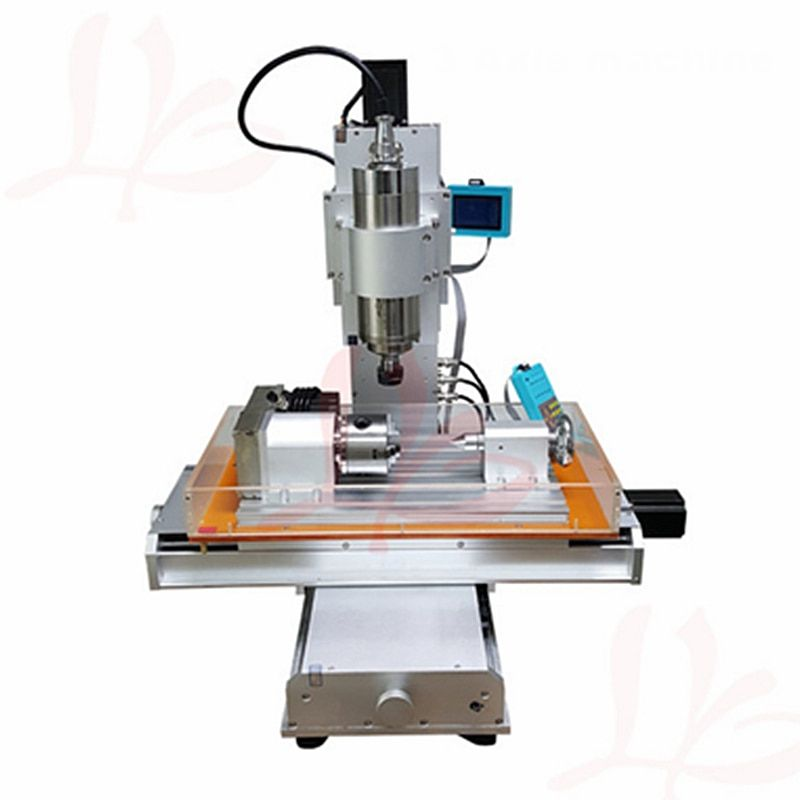4 axis cnc 3040 pillar type engraving machine 1500W Table Column Type woodworking Ball Screw cnc router