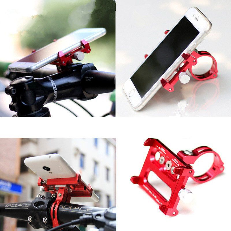 Mijia M365 Electric Scooter Qicycle EF1 E-Bike Metal Phone Holder Fits 3.5 to 6.2 inch Phone GPS Durable Anti-Slip