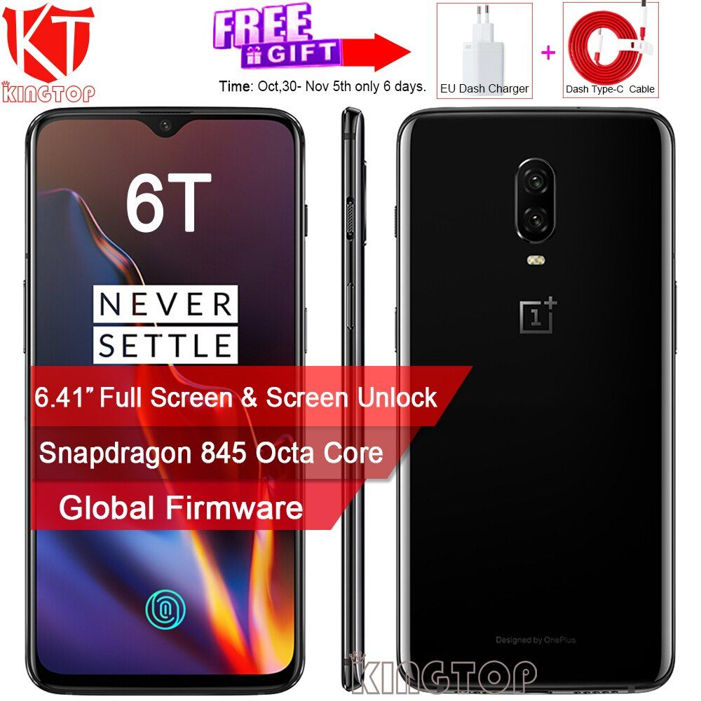 Original Oneplus 6 t Handy Screen Entriegeln 6,41
