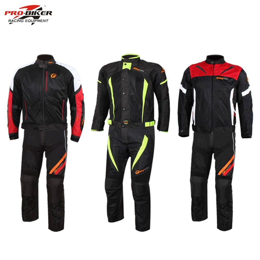 2017 Motorcycle Racing Jacket Pants Suits Protector Motocross Body Armour Protect Jackets Vest Clothing Protective Gear