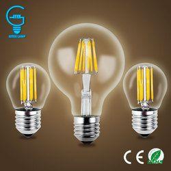Gitex Antique LED E27 Ampoule Rétro Lampe 220 V 2 W 4 W 6 W 8 W LED Filament Lumière E14 Boule De Verre Bombillas LED Ampoule Edison Bougie Lumière
