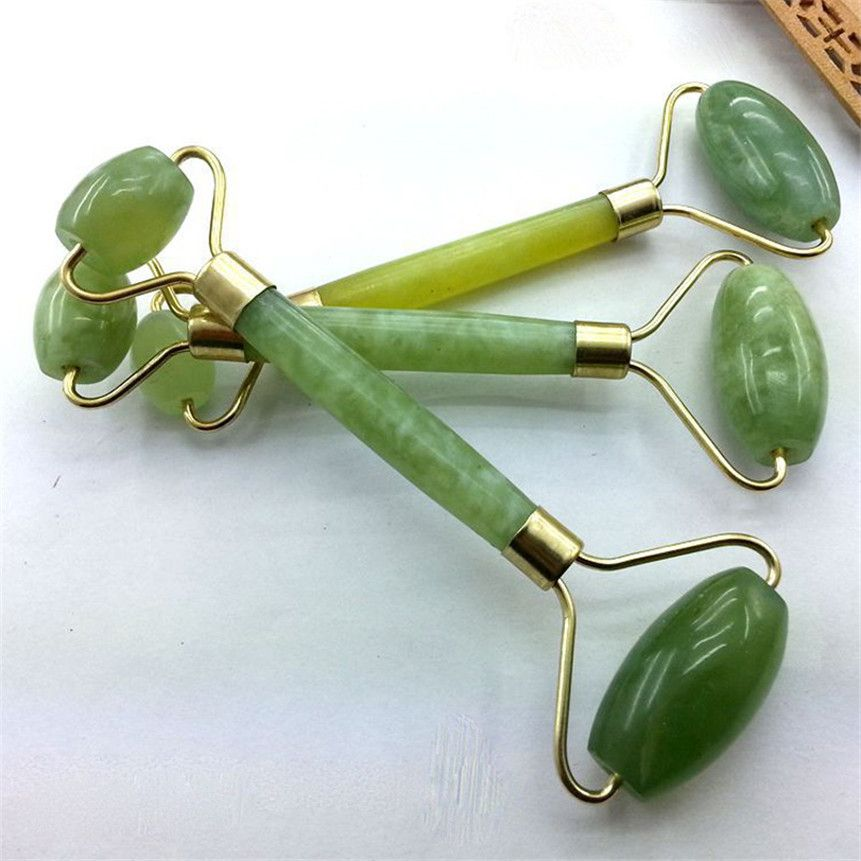 Kanbuder Double Head Facial Massage Roller Jade Face Slimming Body Head Neck Nature a Device Drop Shipping 8m19