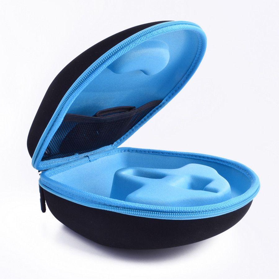 Original EVA Big Headphone Box Case for 50-cent big headband headphone Double Zipper Travel Anti-knock Carry Bags High quality