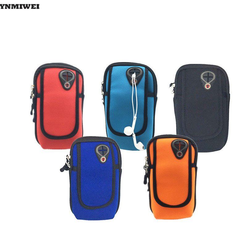 YNMIWEI Arm Band Brassard 5.5 6.0 ''Bras Support de Téléphone À Portée de Main Pour Iphone 6 6 s Plus Sport Bras Sac Correr Bolsas Téléphone Cas Poche