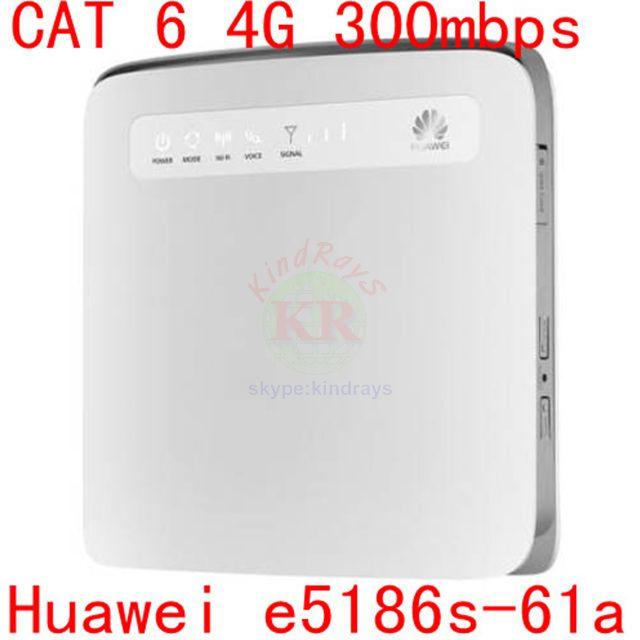 cat6 4g 300MB Huawei E5186 E5186s-61a LTE 4g wifi router 4g lte cpe 4g 3g dongle pk b880 b890 e5172 b593 e5170