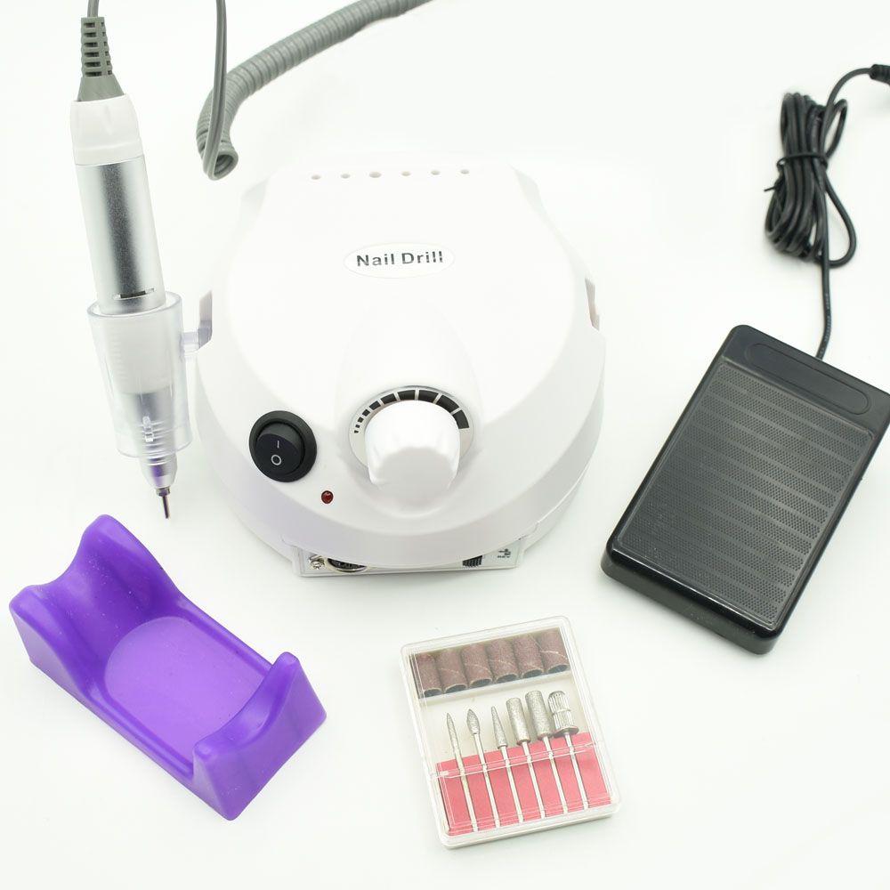 30000RPM Electric Nail Drill Manicure Machine Machine File Kit Nail Cutter Bit Pedicure Nail Drill Bits Nail Polisher Tool