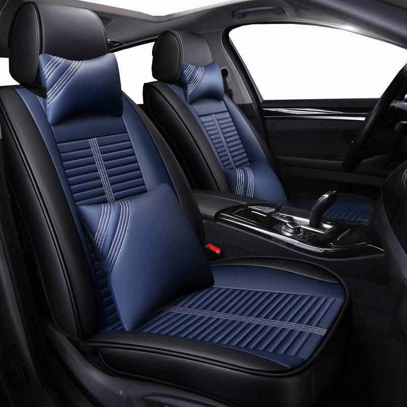 Nouveau Cuir Universel housses de siège auto pour Honda accord 7 8 9 civic CRV CR-V 2017 2016 2015 2014 2013 2012 2011 2010 2009 2008
