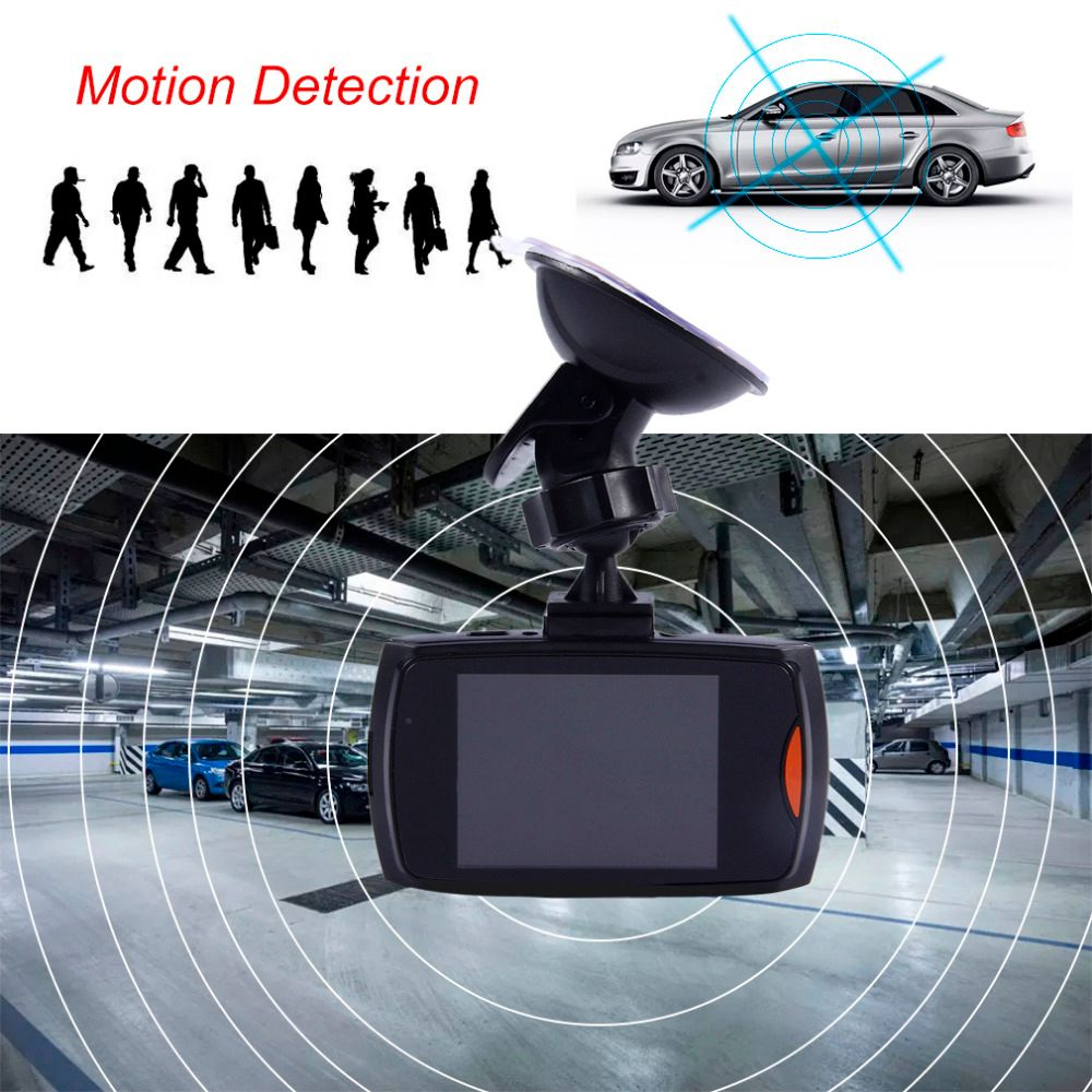 New Arrive 2.5 Inch 1080P LCD Screen HD Car Dash Cam DVR Video Recorder Support Night Vision Camera Tachograph G-sensor Function