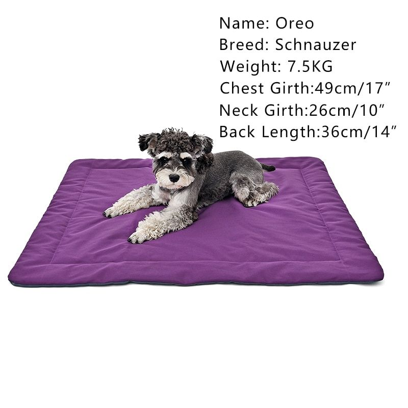New Waterproof Pet Cushion Cooling Dog Bed 2 Pure Colors Puppy Kennel Cat Mats 100*85CM Great Quality Useful for Pregnant Animal