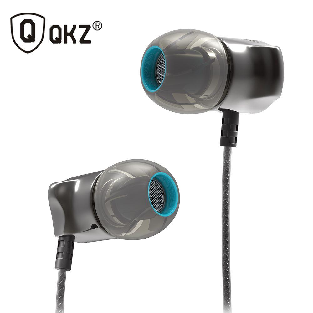 Écouteurs intra-auriculaires 100% garantie Original et marque QKZ DM7 nouveau casque écouteurs pour iPhone 5 5 S 5C 6 6plus fone de ouvido
