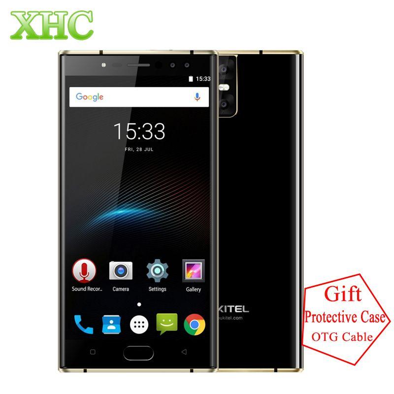 Original OUKITEL K3 5.5'' Smartphone 4GB+64GB Android 7.0 MT6750T Octa Core 1920*1080 FHD 6000mAh 16MP+16MP Dual SIM Cellphones