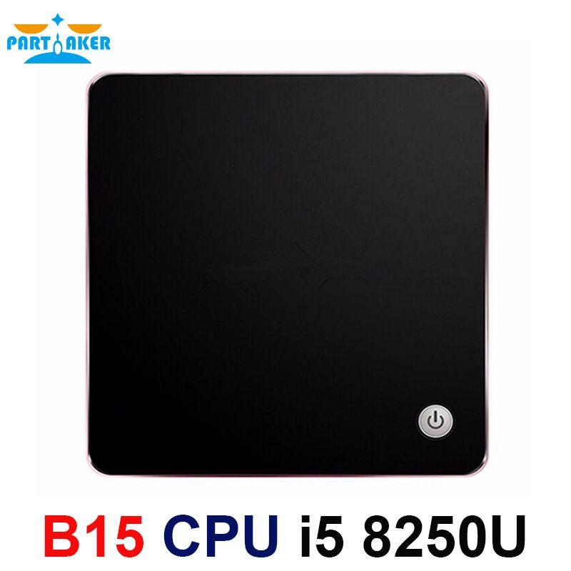 8th Gen Intel Core i5 8250U Partaker Kaby Lake R Mini PC Windows 10 Intel UHD Graphics 620