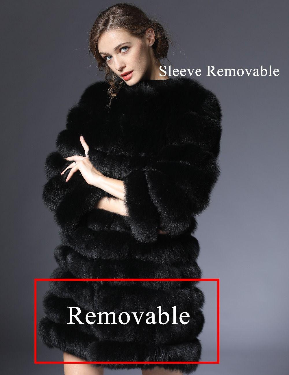 real fur coats New Style fox fur women imported Women Winter coats with natural fox fur winter coats women genuine fox vest DHL