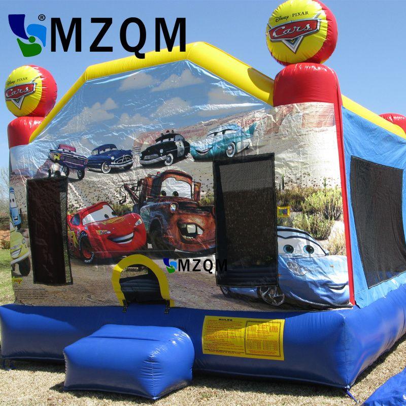 Kommerziellen Aufblasbare Auto Bouncer Autos Aufblasbarer Prahler Burg, Aufblasbare springende Prahler, Aufblasbares Kombiniertes Für Kinder