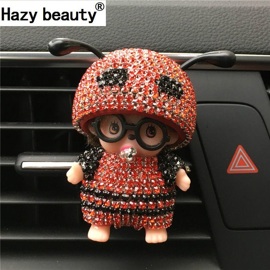 Hazy beauty Car Perfume Glasses Kiki Bee Outlet Perfume The Air Port Ant Antenna Parfum Women Perfume Original Car-styling