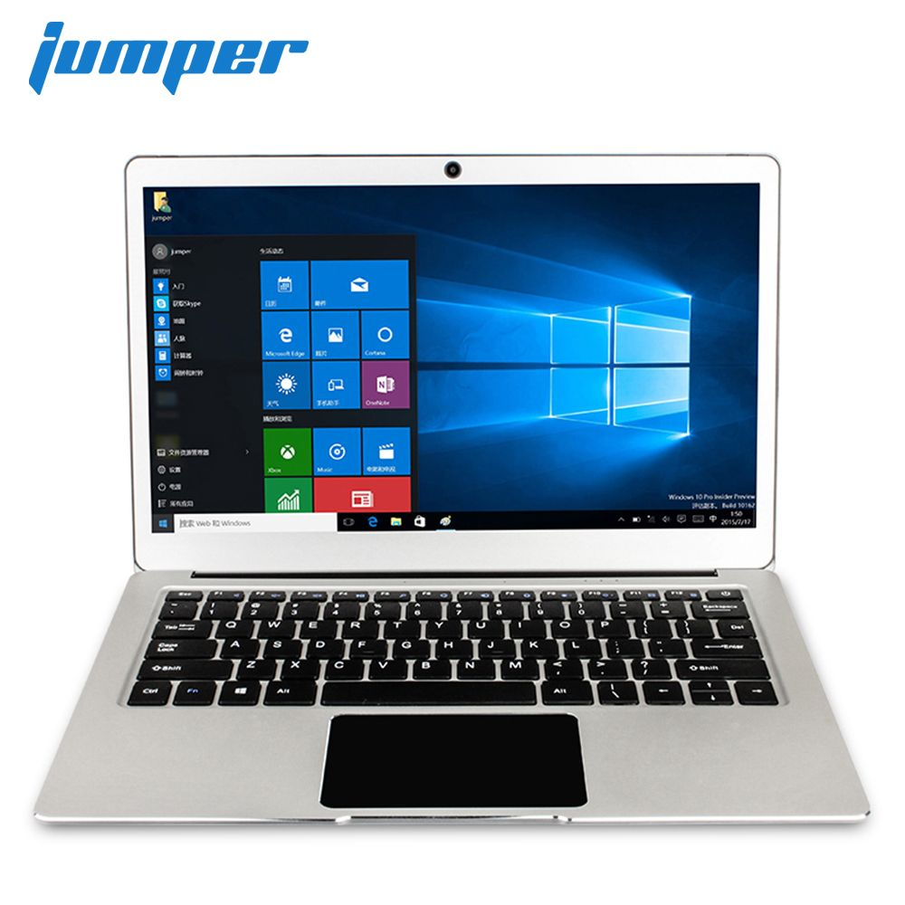 Jumper EZbook 3 pro 13.3 FHD IPS laptop with M.2 SATA SSD Slot Apollo Lake N3450 notebook Dual Band AC Wifi 6GB DDR3 64GB eMMC