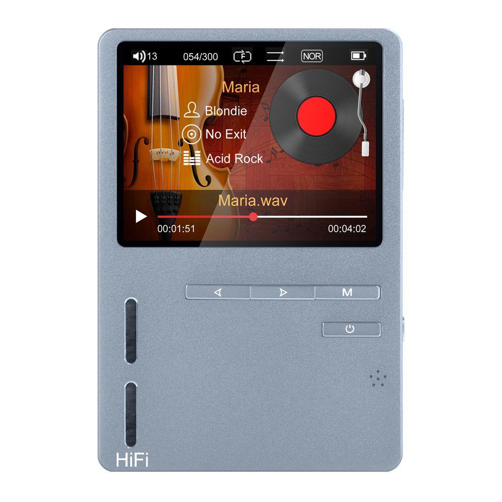 ONN X6 8 GB Profesional de música sin pérdidas de alta fidelidad mp3 reproductor de música con pantalla TFT de apoyo APE/FLAC/ALAC/WAV/WMA/OGG/MP3 formato