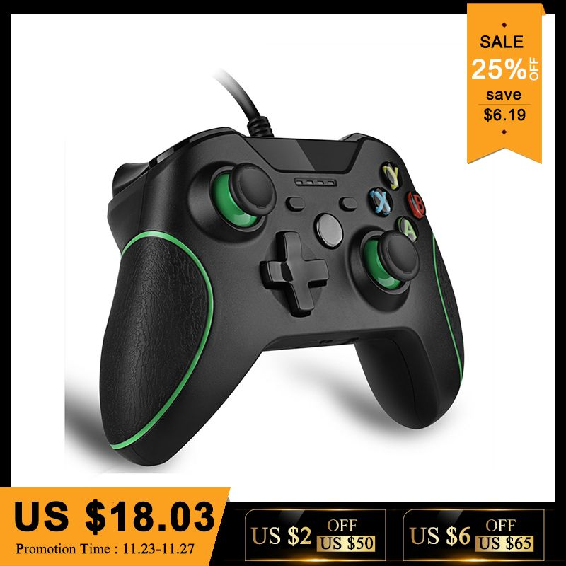 Wired Controller For Microsoft Xbox One Controller Gamepad Joystick USB Controle For <font><b>Windows</b></font> PC