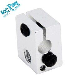 Aluminium V6 Heat Block For V5 V6 J-head Extruder HotEnd 3D Printers Parts Heater Hot End Heating Accessories 20*16*12 mm Part
