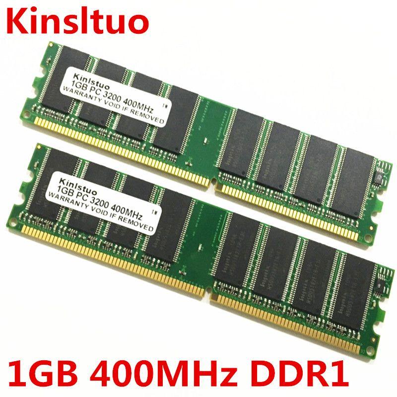 Tout nouveau scellé 1 GB DDR 400 Mhz 2 GB (1GBX2) PC 3200 ordinateur de bureau Support de mémoire toute la carte mère DDR1