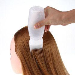 Incroyable! 120 ml De Mode de Femmes Cheveux Colorant Bouteille Applicateur Brosse De Distribution Salon De Coiffure Outil CADEAU