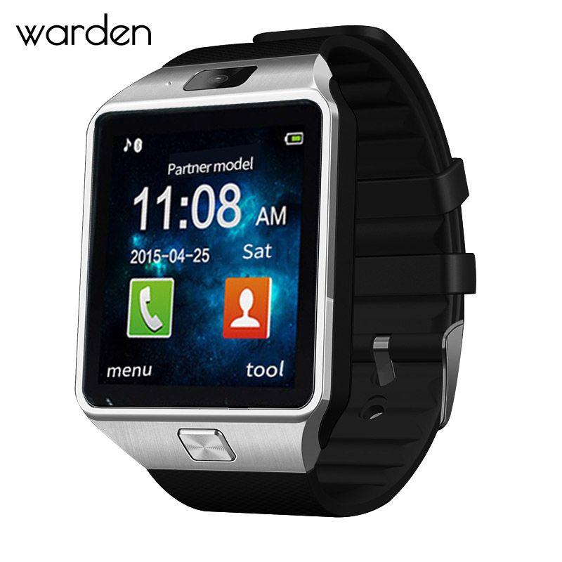 Уорден электронный Для мужчин Смарт часы LED Sport Life Водонепроницаемый Шагомер smartwatch Bluetooth цифровые часы для Android IOS Телефон
