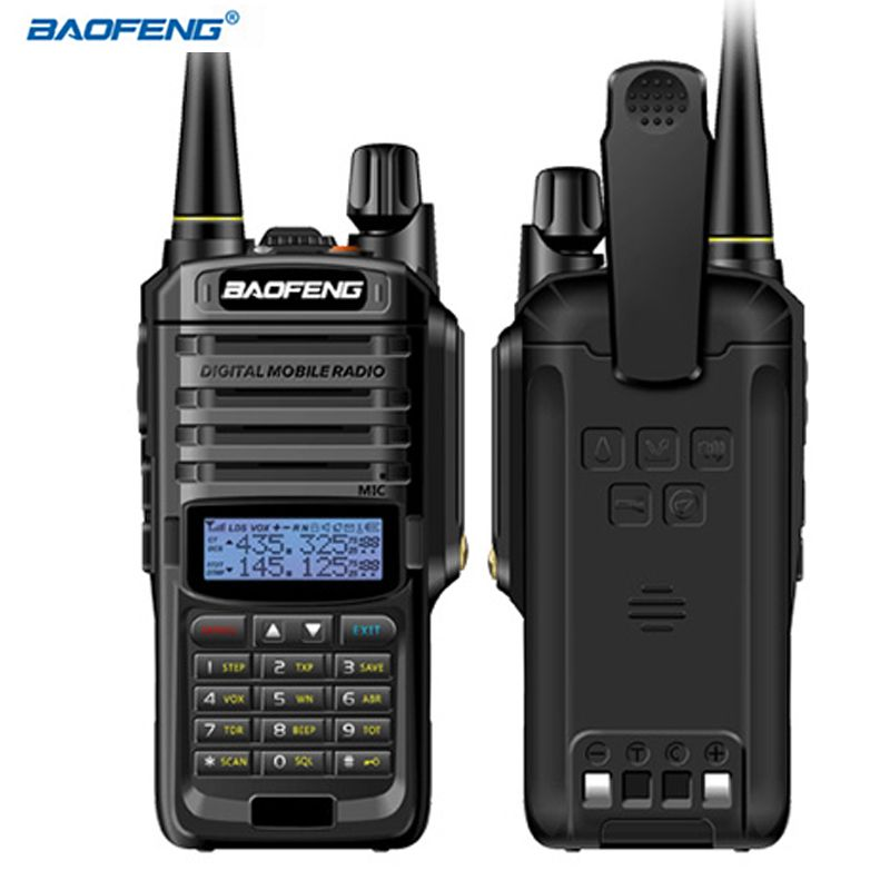 BAOFENG 2Pcs UV-9R Plus Walkie Talkie 136-174/400-520MHz Walkie Talkie IP67 Water-Proof 9R plus Standby Handheld Two Way Radio