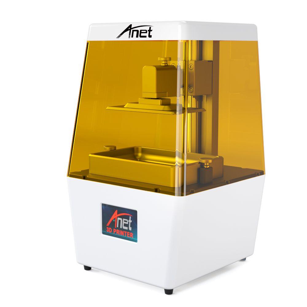 Anet 3D Drucker N4 Hohe Präzision 40um mit 3,5 inch LCD Screen Off-Line Druck Impresora 3d Drucker UV harz LCD 3D Drucker