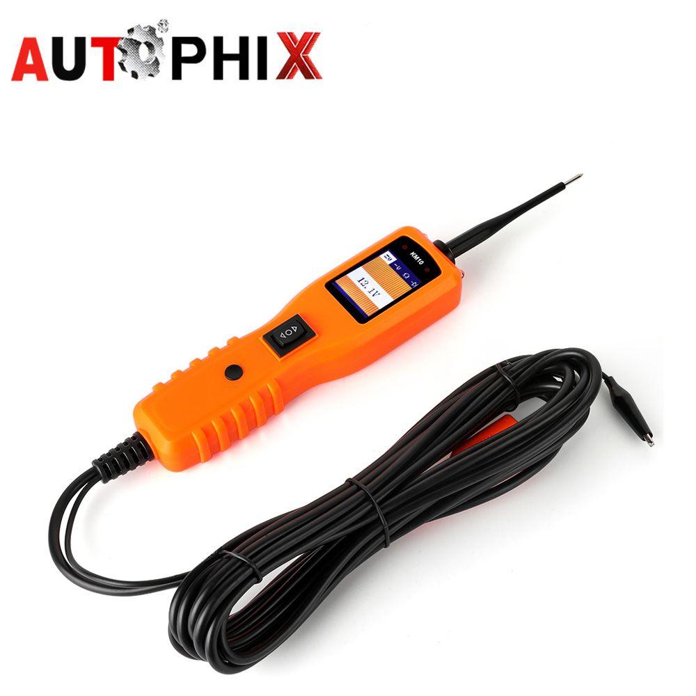 Autophix KM10 Circuit Diagnostic Tester Auto Circuit Tester Wire Electronic Multimeter Repair Tool Automotive Power Scan Tool