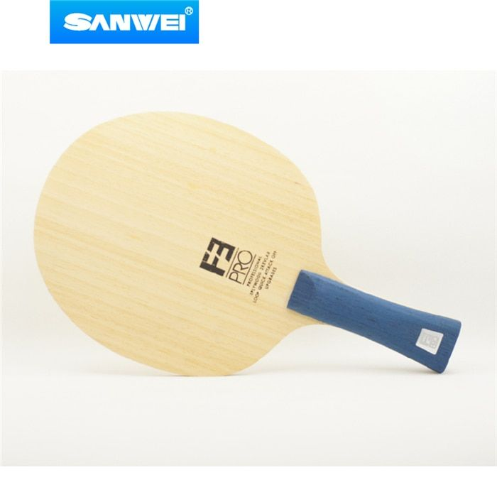 Sanwei F3 PRO (5 + 2 ALC, Premium Ayous Oberfläche, OFF + +) Arylate Carbon Tischtennis-blatt Klingeln Pong Paddel-schläger-schläger