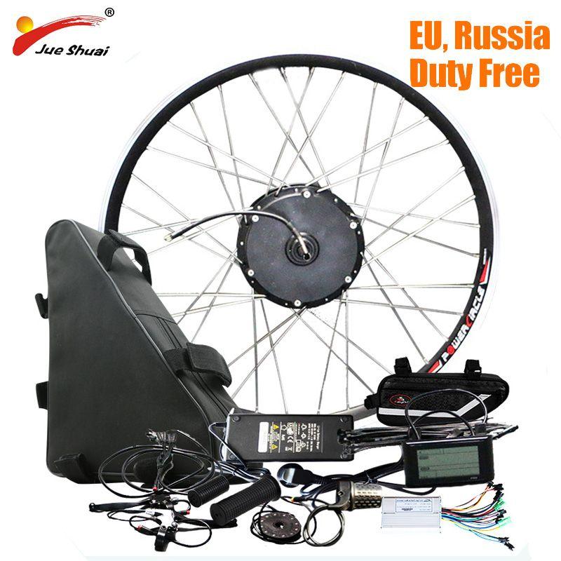 48 v 20ah Batterie 48 v 500 watt Electric Bike Conversion Kit mit Batterie Bürstenlosen Hub Motor Rad bicicleta electrica e-bike Kit