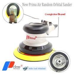 New Pneumatik Sanders Taiwan Prima Air Tools Palm Random Orbital Sander Polisher 5 Inch Lingkaran Bulat Pad 125 Mm Tinggi kualitas