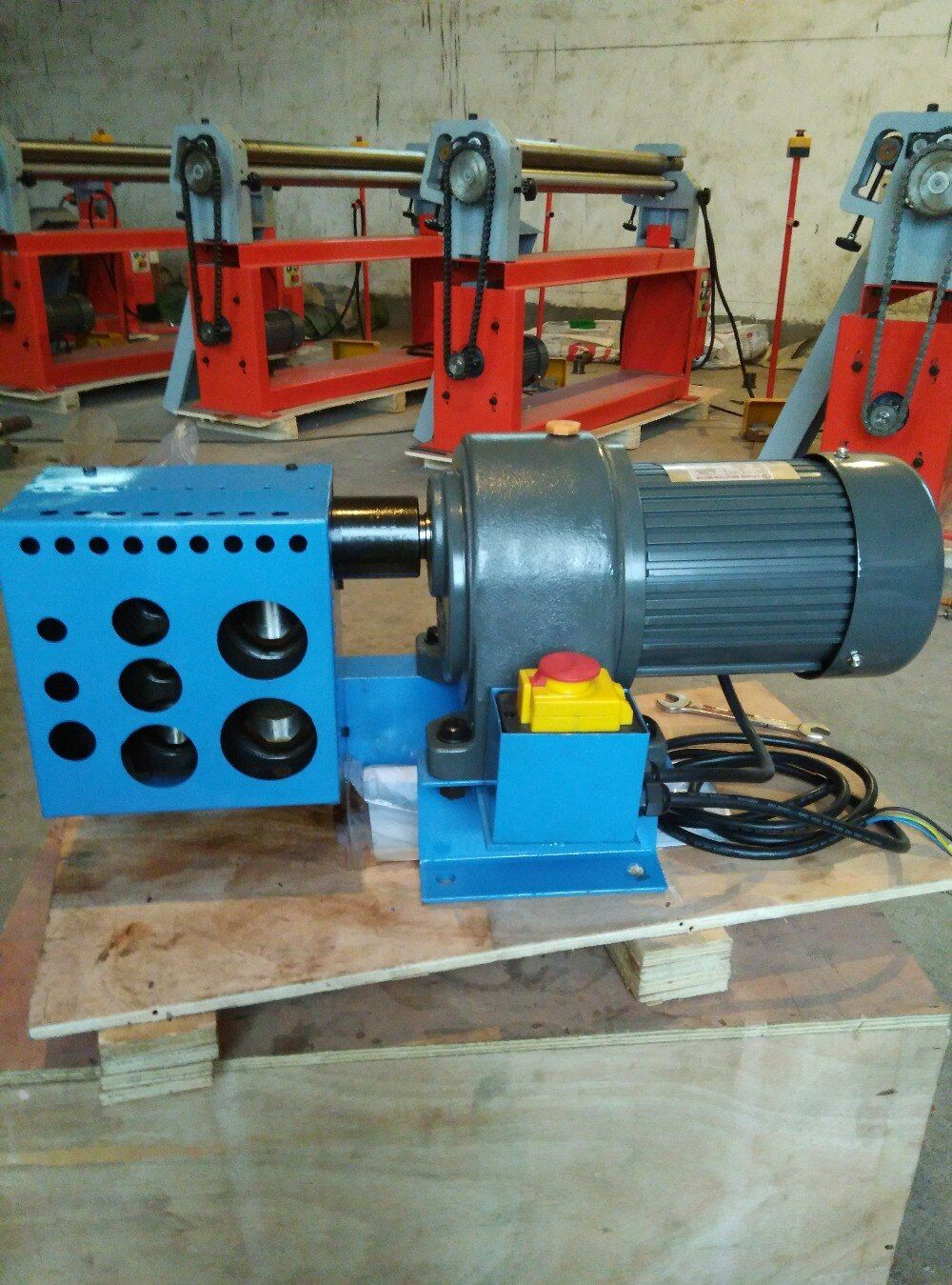 KPN-4 tube/pipe notcher machinery tube cutting machine tools