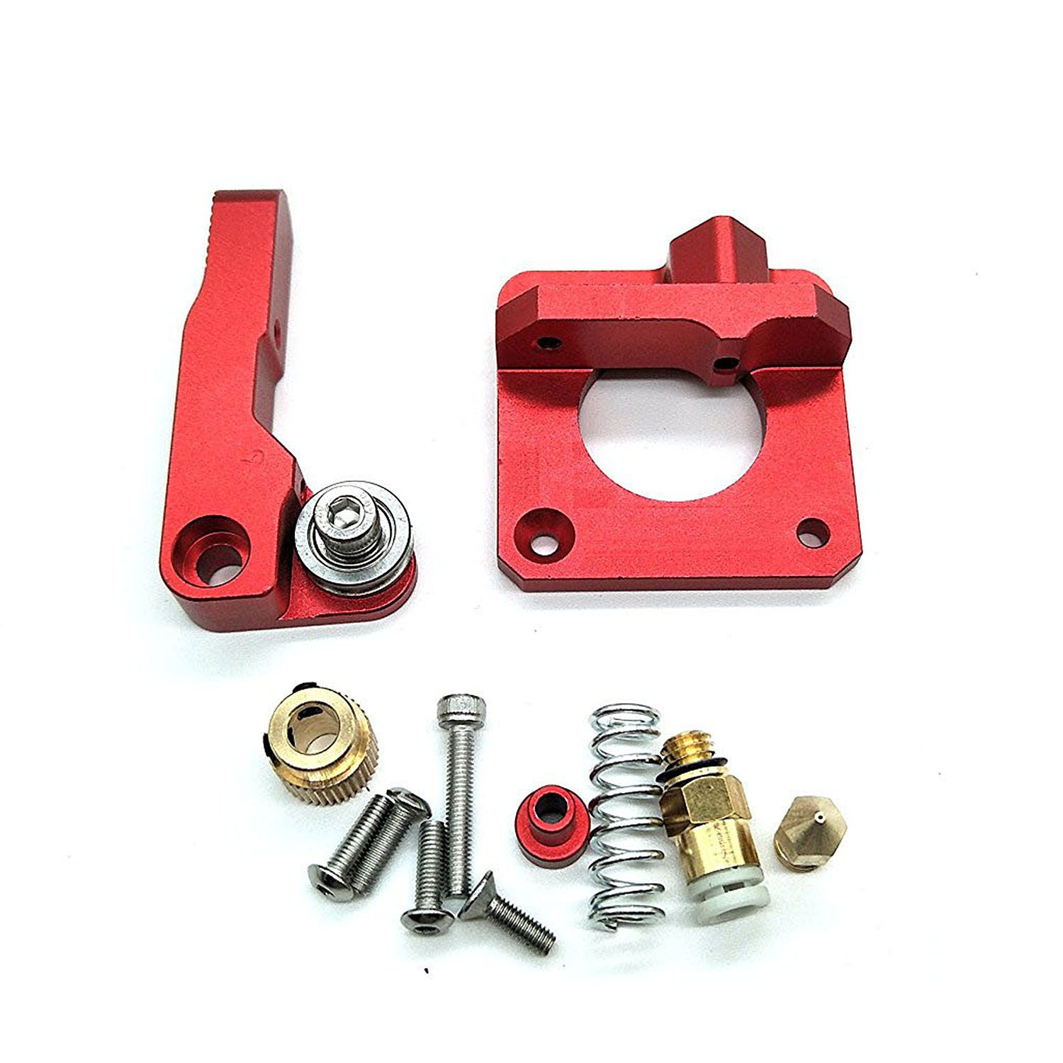 CR-10 Extruder Upgraded Replacement, Aluminum MK8 Drive Feed 3D Printer Extruders for Creality CR-10, CR-10S, CR-10 S4, CR-10