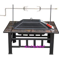 Multifunktions-outdoor kamine für bbq und erhalten erwärmung