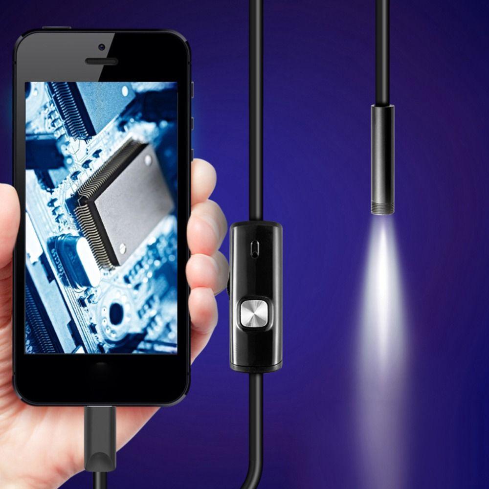 1 M/1.5 M/2 M/3.5 M 7mm Objectif HD 480 P USB OTG Serpent Endoscope Étanche 6 LEDs Pipe Inspection Caméra Endoscope Pour Android Téléphone PC