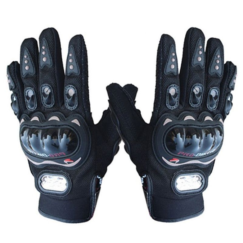 Pro-biker Full Finger Motorcycle Riding Racing Cycling ATV Sport Gloves XXL