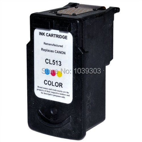 1x Color Ink Cartridge Compatible  For Canon CL-513 CL513 For Canon PIXMA MP270 MP272 MP280 MP480 MP490 MP495 MX320 MX330