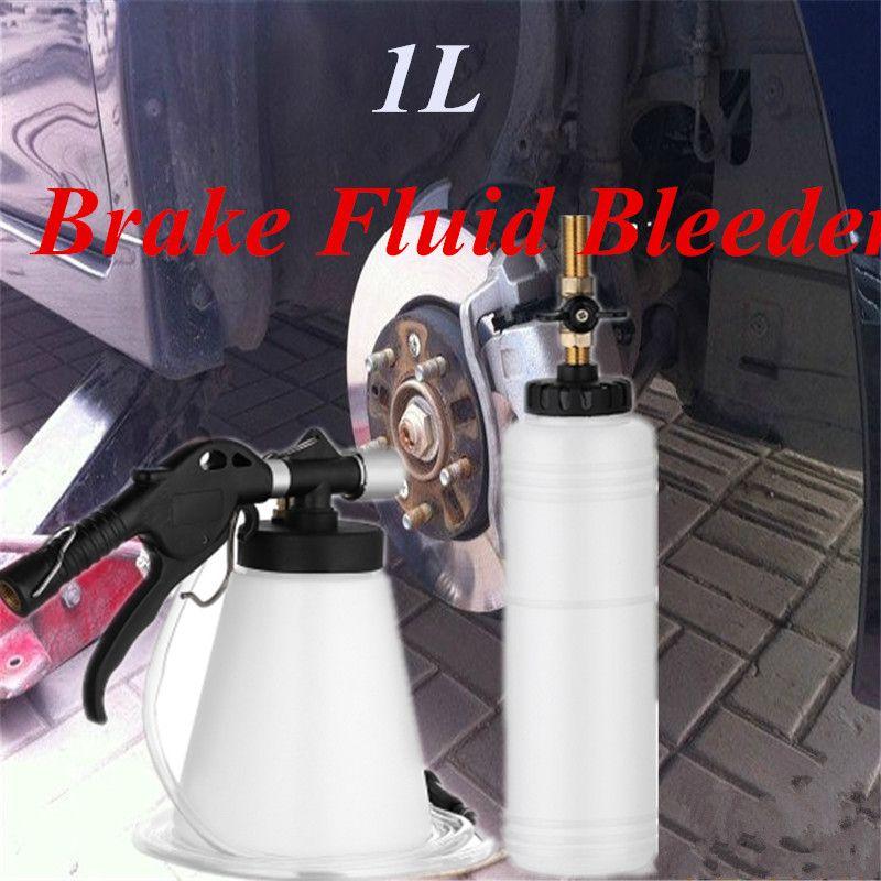 1L Vehicle Brake Vacuum Evacuation Brake Fluid Fill Machine Equipment Oil Bleeding Extractor Fill Bottle