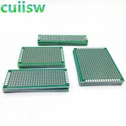 20 Pcs/lot 5X7 4X6 3X7 2X8 Cm Dua Sisi Tembaga Prototipe PCB universal Papan Eksperimental Pengembangan Piring UNTUK ARDUINO