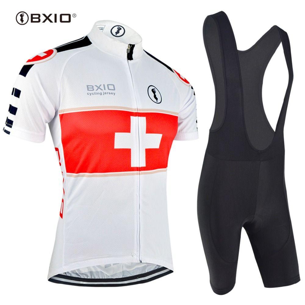 BXIO Radfahren Jersey Sets Promotion Artikel Kurzen Ärmeln mtb Skinsuit Ropa Ciclismo Bike Sportwear Fahrradbekleidung BX0209W001