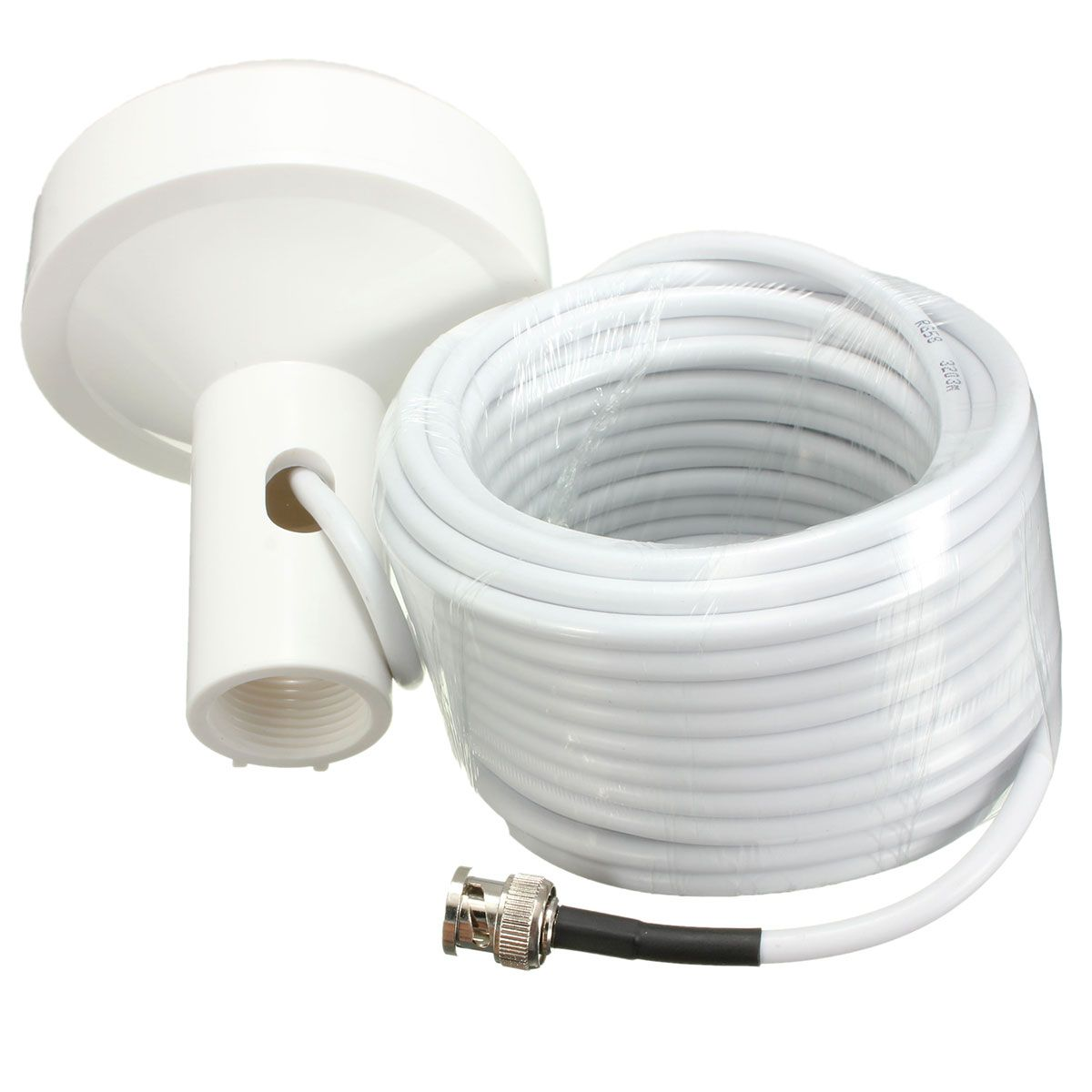 New GPS Active Marine Navigation Antenna 10 Meters With BNC Male Plug Connector