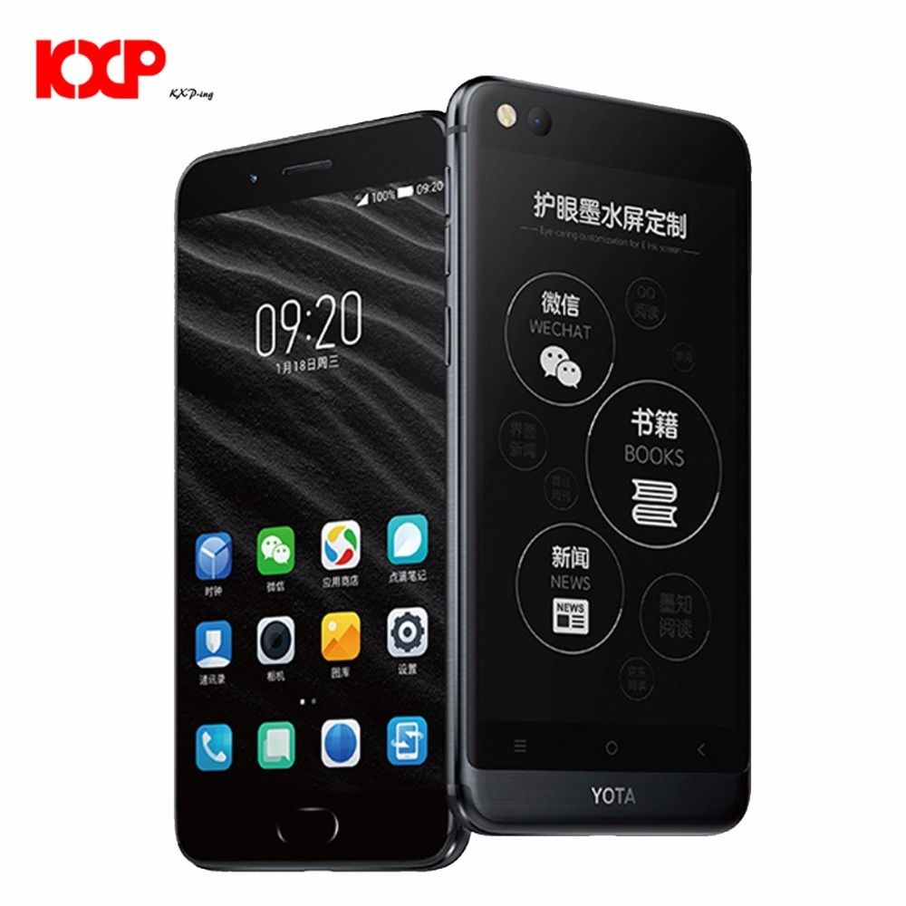 Yota Yotaphone 3 4G Only English Octa Core 4G+64G Android7.1 Dual Scree Smartphone 5.5