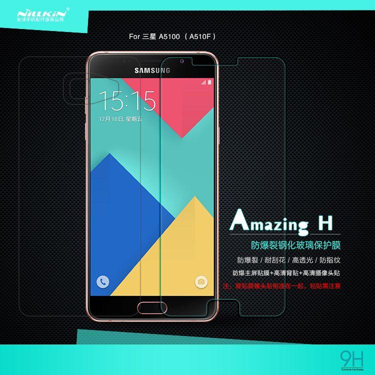 NILLKIN Pour Samsung Galaxy A5 2016 A5100 écran protecteur pour Samsung A3 2017 verre film pour A5 2017/A7 2017 de protection film